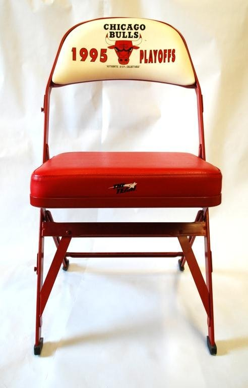 11: Chicago Bulls 1995 Playoffs Chair
