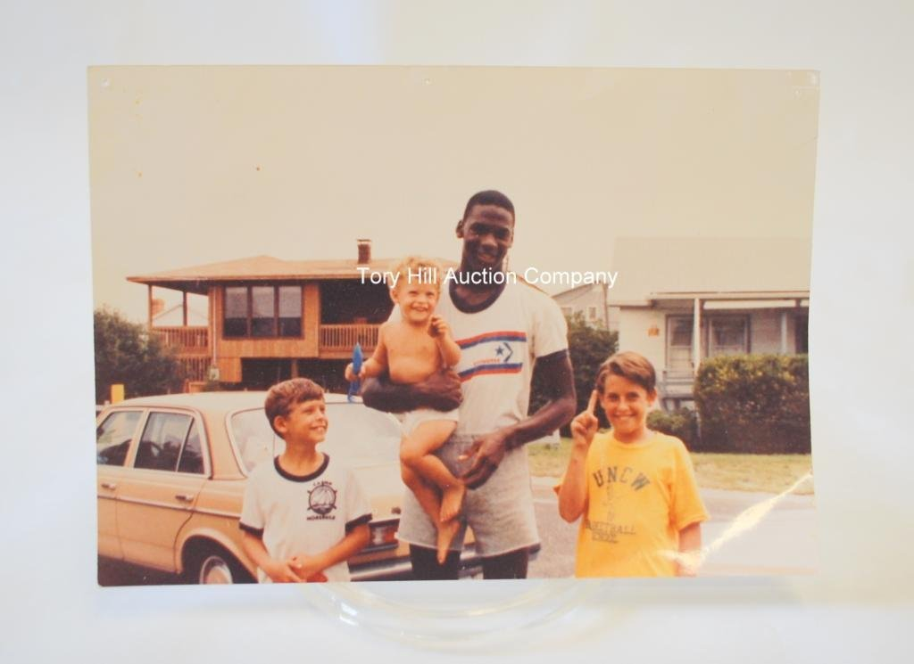 23: Teen Michael Jordan Candid Photograph