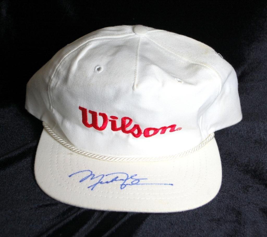 42: Michael Jordan Autographed Wilson Cap