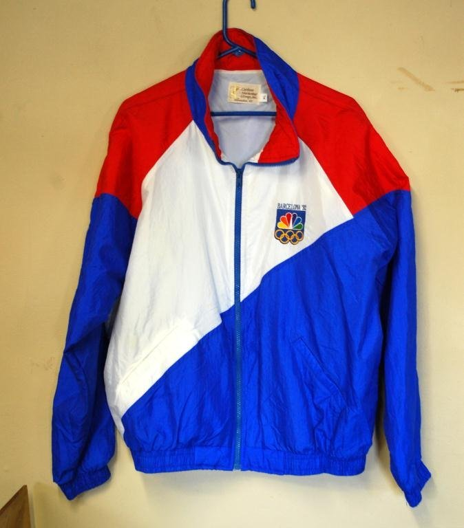 5A: 1992 Olympics Jacket gifted by Michael Jordan