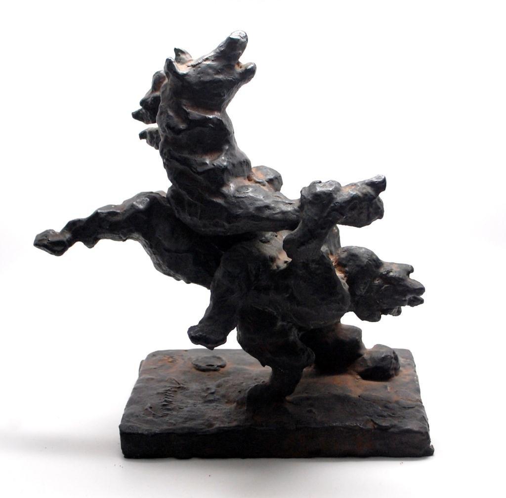 32: Jacques Lipchitz Bronze L'ENLÈVEMENT D'EUROPE