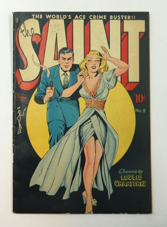 3: The Saint No. 4 Comic