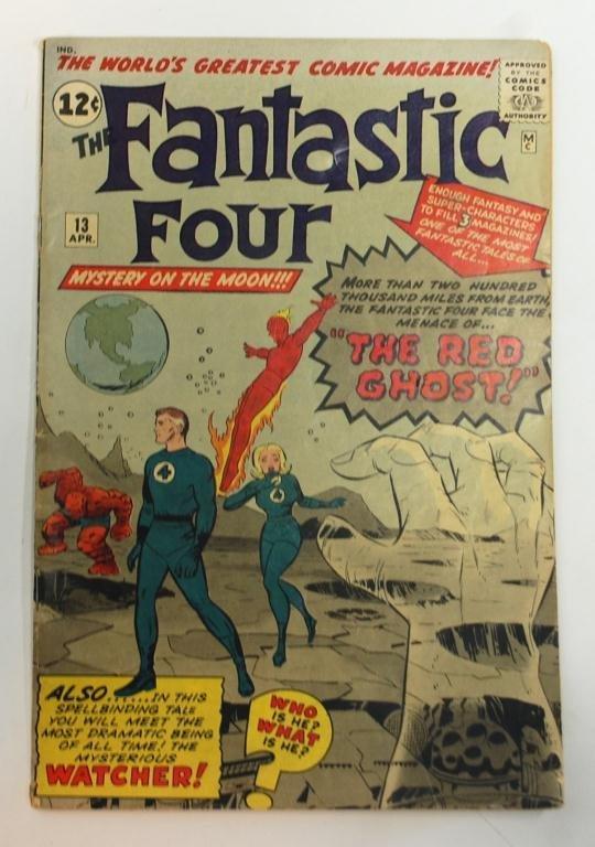 4: The Fantastic Four #13 Comic Book