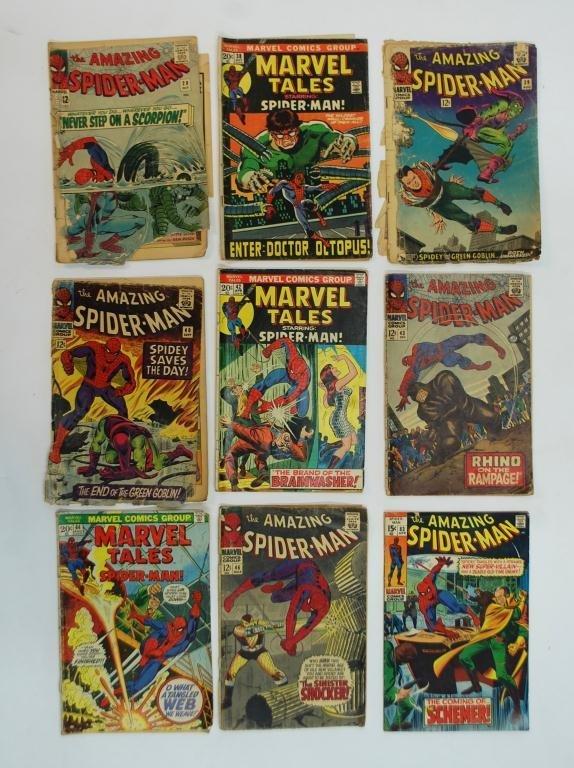 6: 13 Silver Age Spider-Man Comics