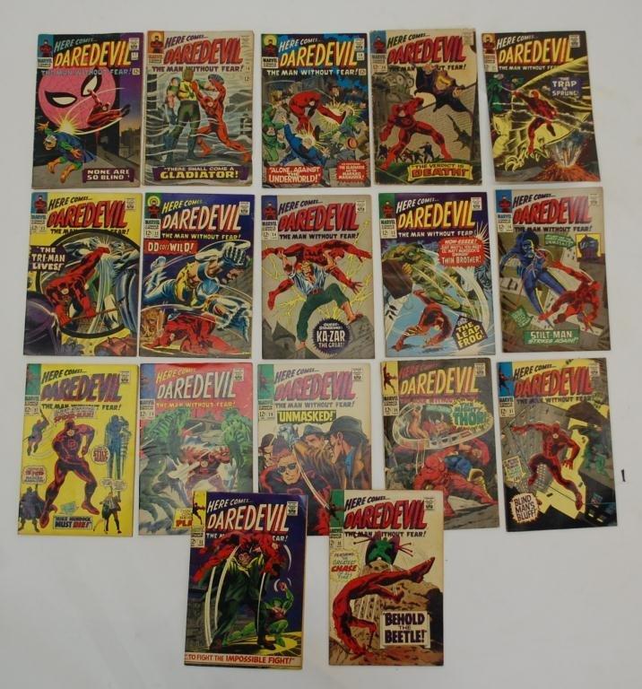 7: 17 Daredevil Comics #17 - #33