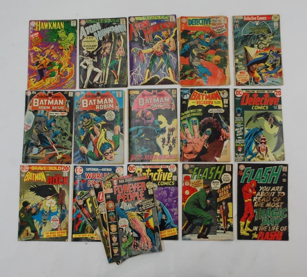 8: 39 Silver Age DC Comic Books