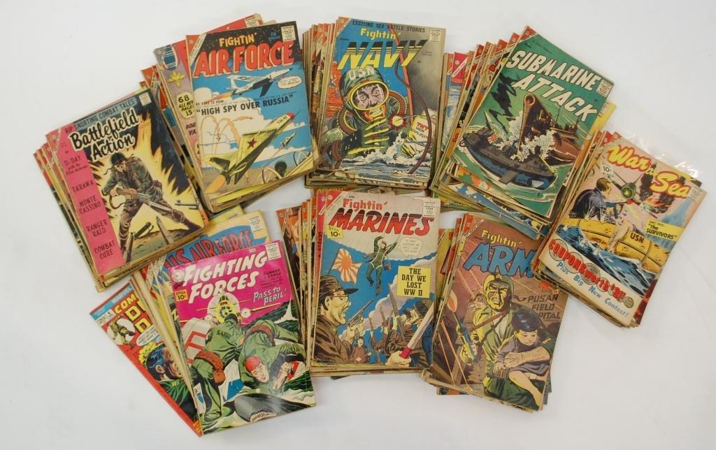 9: Group Silver Age War Comics