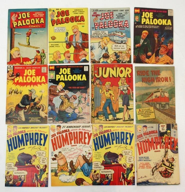 10: Joe Palooka, Humphrey, Junior Comics
