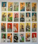 120:circa 1910, 24 Baseball Cigarette Cards