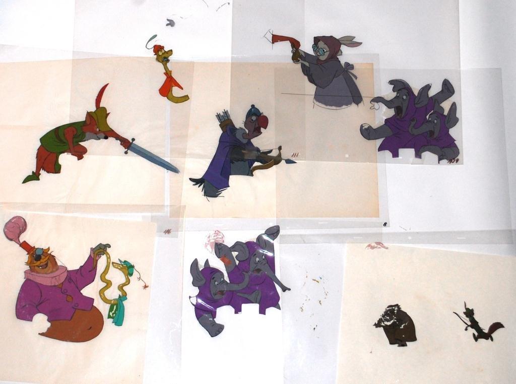 17: Disney Animation Cells from Robinhood