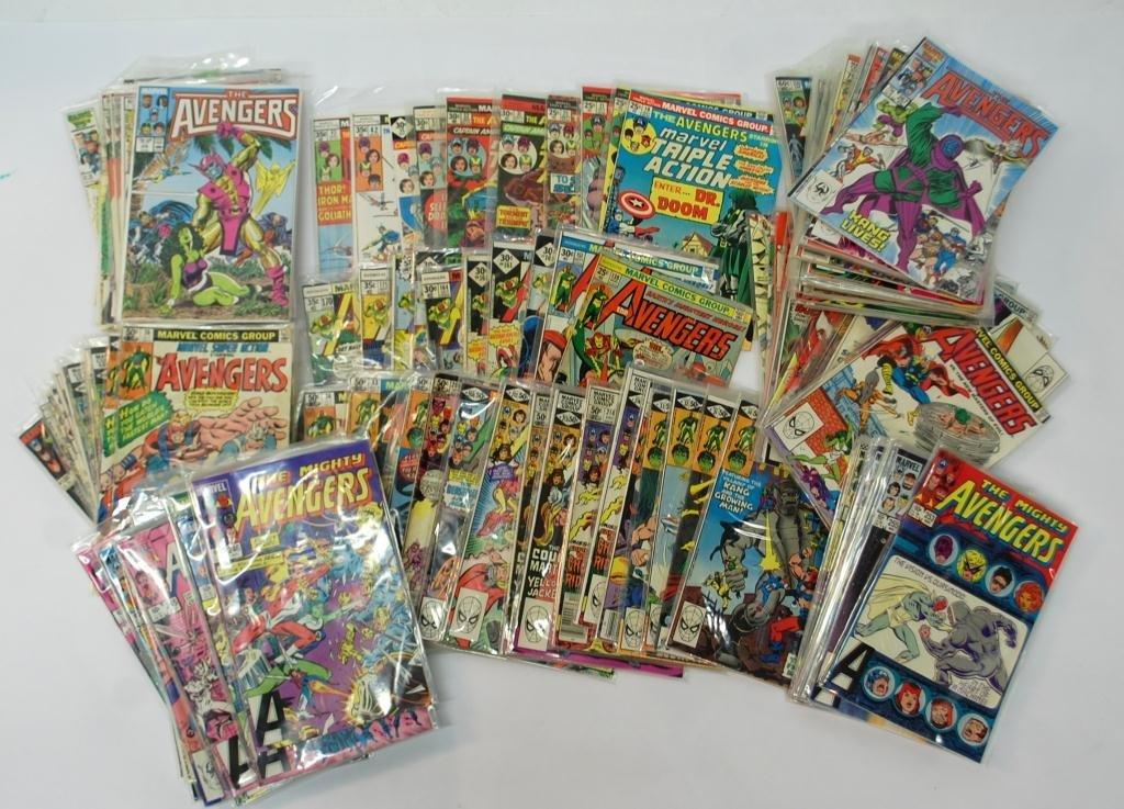 11A: 140+ The Avengers Comic Books
