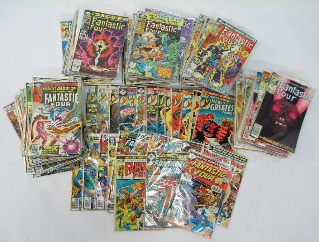 11B: 175+ Fantastic Four Comic Books
