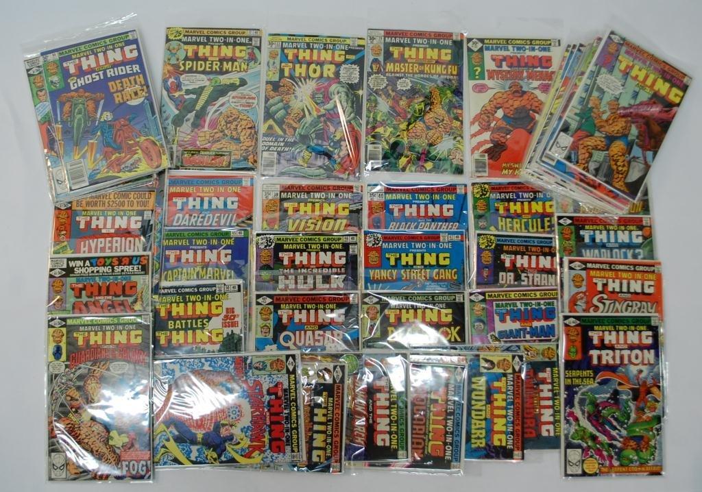 "11C: 130+ ""The Thing"" Comic Books"
