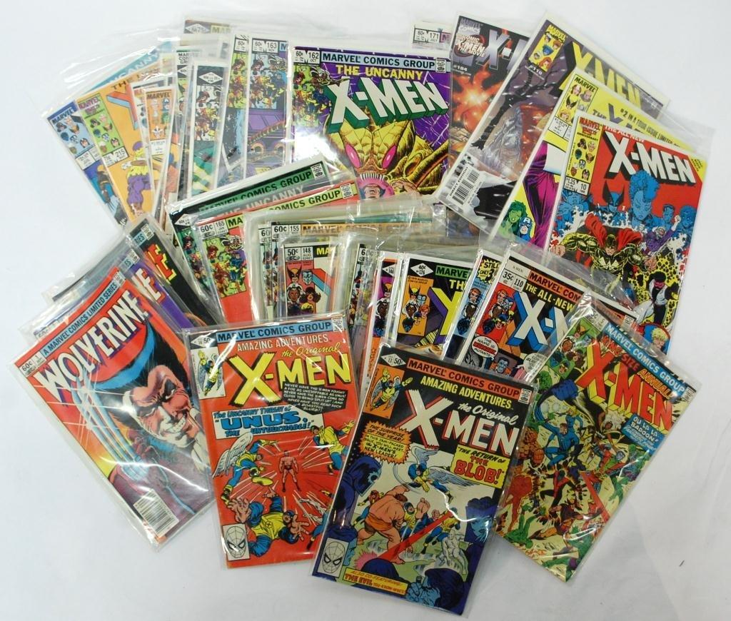 11D: 83 X-Men Comic Books  includes #13 & #14
