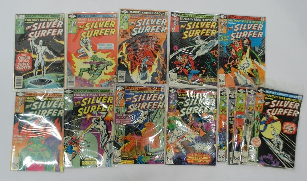 11F: Silver Surfer Comics # 1-14