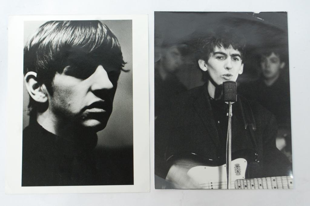 19A: Photographs Beatles Ringo and George Harrison