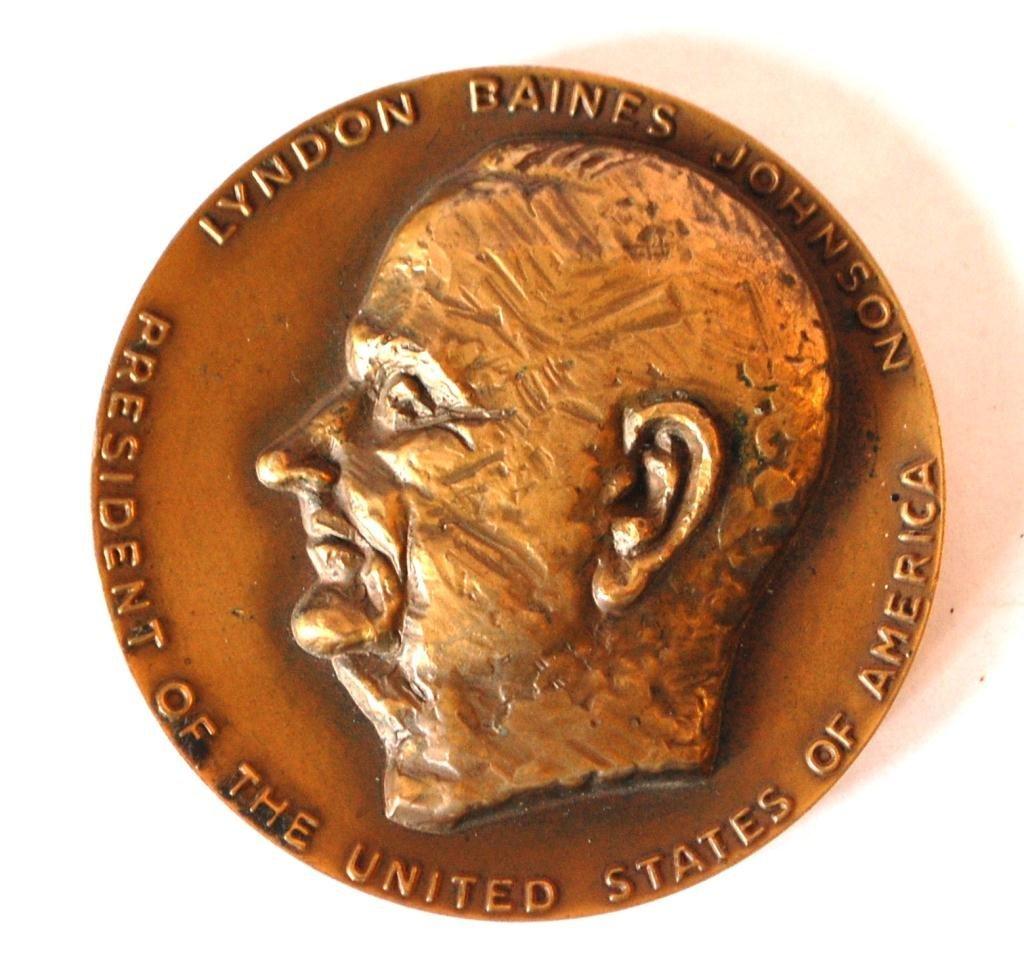 Original  L.B.J. Presidential Medal Prototype- Lipchitz