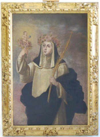 17th Century Spanish Colonial Painting