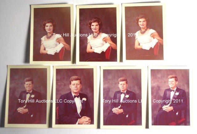 John F. Kennedy & Jacqueline Kennedy Original Negatives