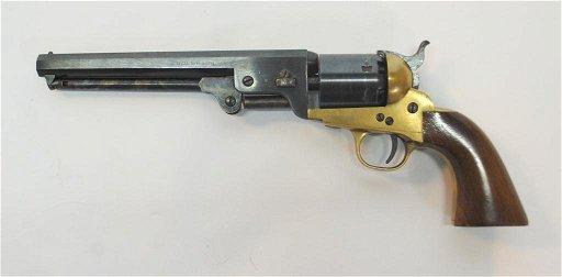 Euroarms  36 Caliber Navy Model Revolver Replica