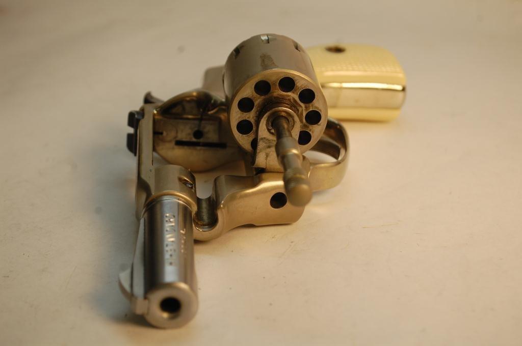 Hi-Standard .22 Caliber 9 Shot Revolver - 10