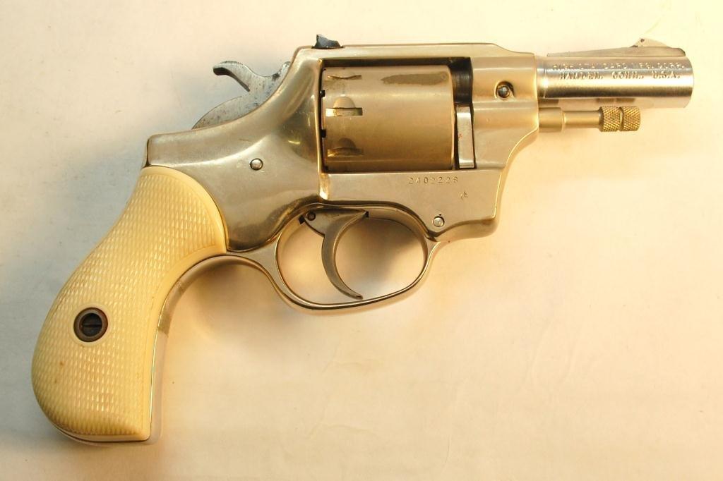 Hi-Standard .22 Caliber 9 Shot Revolver