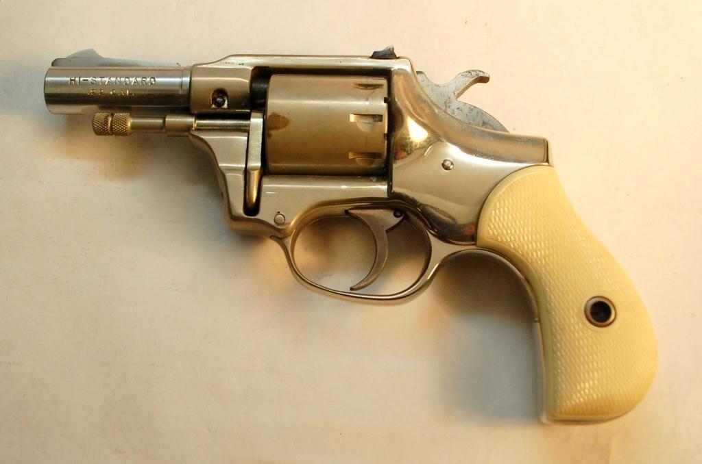 Hi-Standard .22 Caliber 9 Shot Revolver - 2