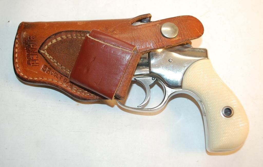 Hi-Standard .22 Caliber 9 Shot Revolver - 3