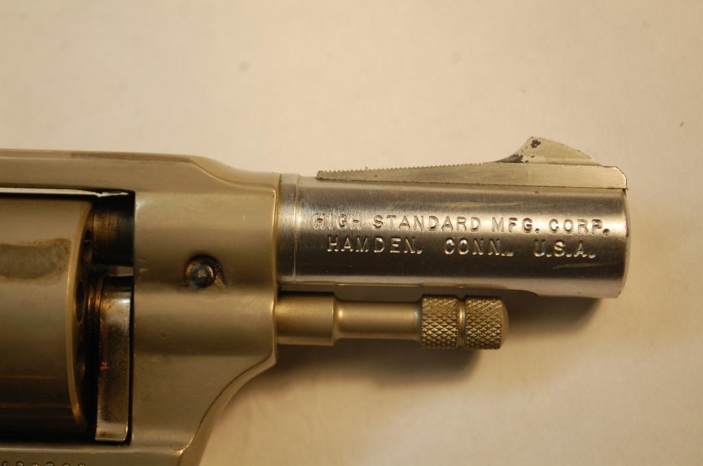 Hi-Standard .22 Caliber 9 Shot Revolver - 4