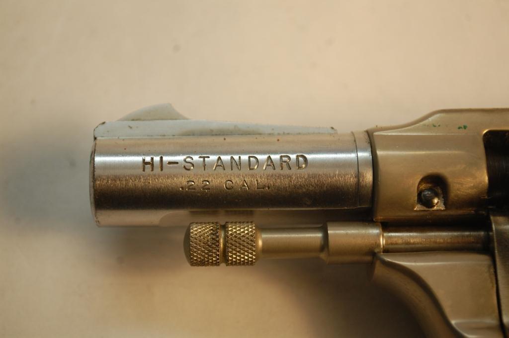 Hi-Standard .22 Caliber 9 Shot Revolver - 5