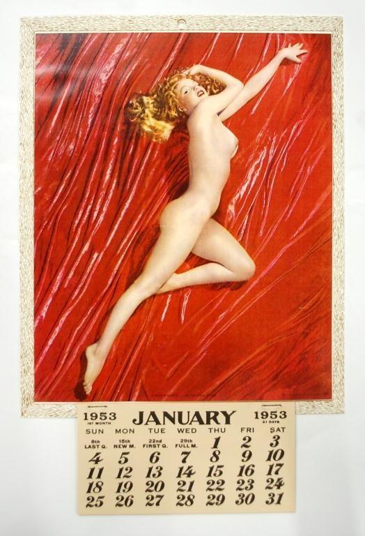 "1953 Marilyn Monroe ""A New Wrinkle"" Calendar"