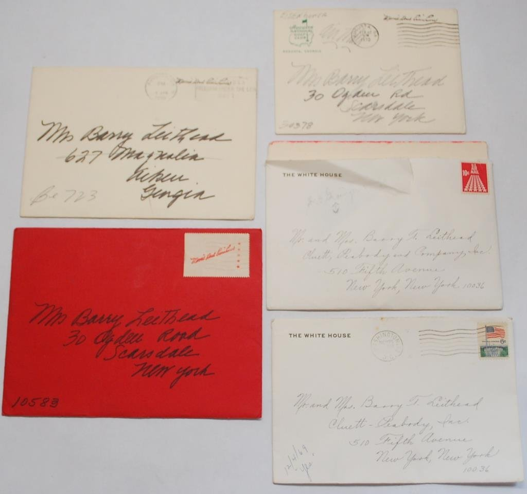 Collection Mamie Eisenhower Hand Written Notes
