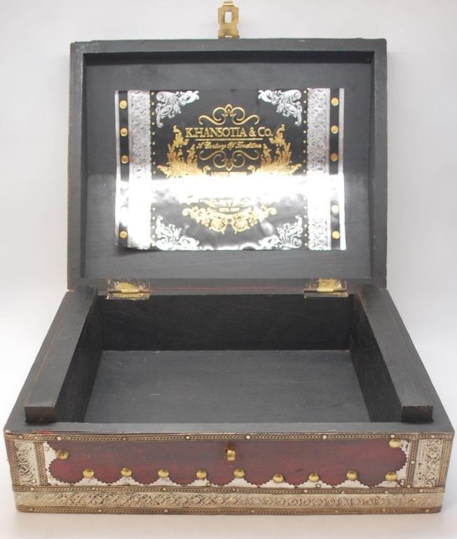 K. Hansotia & Co. Cigar Box, Ltd. Ed Mahogany - 6