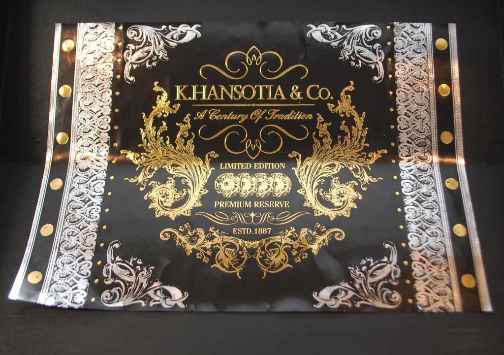 K. Hansotia & Co. Cigar Box, Ltd. Ed Mahogany - 7