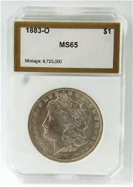 1883-o Morgan Silver Dollar