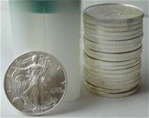 20 Silver Eagle Liberty Dollar Coins