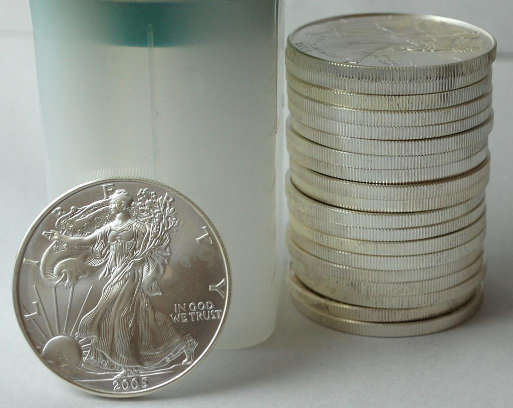 20 Silver Eagle Liberty Dollar Coins