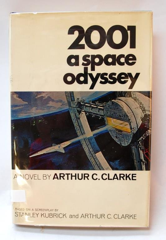 "Signed ""2001 A Space Odyssey"" 1st Edition"