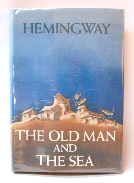 "Hemingway Signed  ""The Old Man And The Sea"""