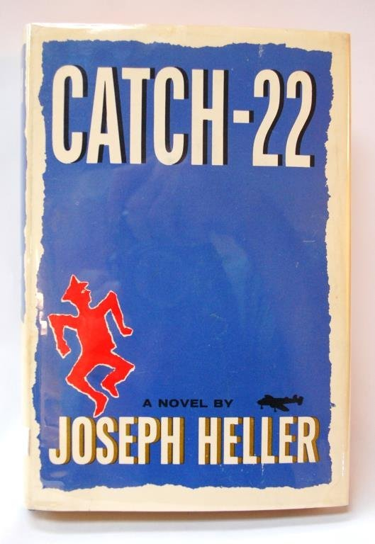 """Catch 22"" First Edition w/ Heller Signature"
