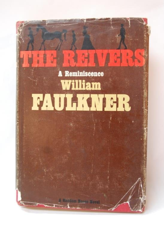 """The Reivers"" 1st Edition Signed Faulkner"