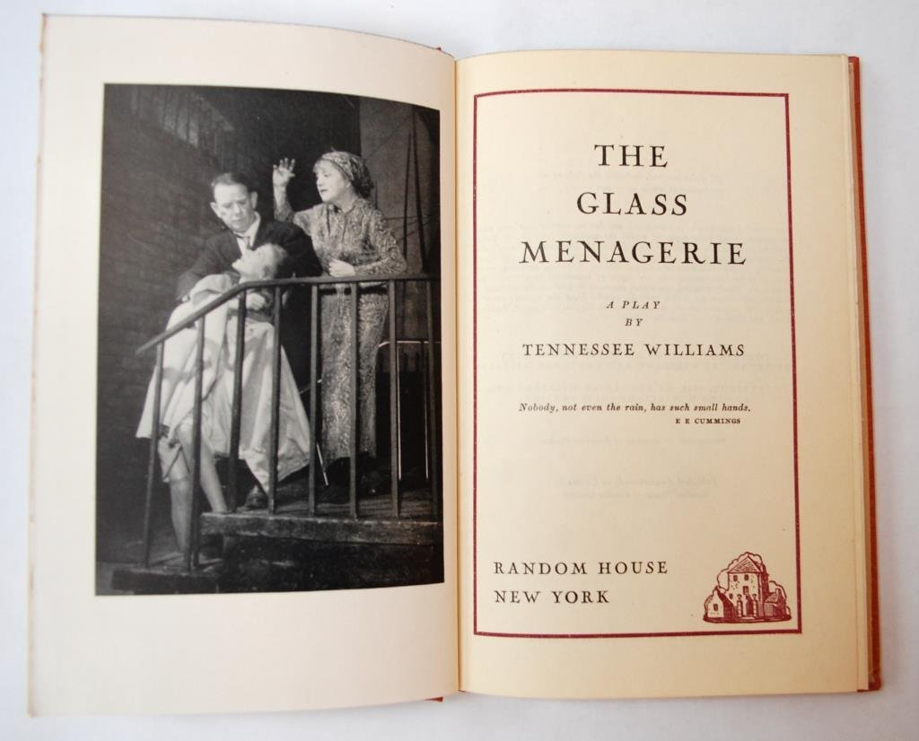 """The Glass Menagerie"" 1st Edition T. Williams"