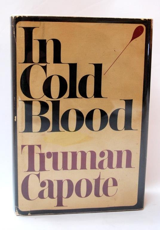 """In Cold Blood"" 1st Edition Signed Truman Capote"