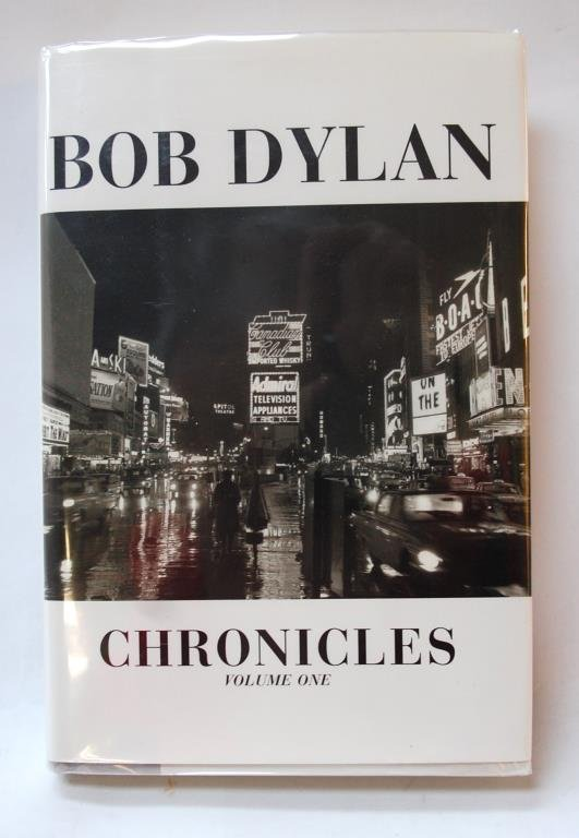 "Bob Dylan Signed ""Chronicles"""