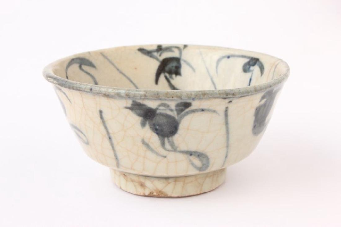 Early Chinese Blue and White Porcelain Bowl,