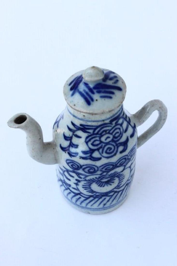 Chinese Qing Dynasty Porcelain Ewer, - 6