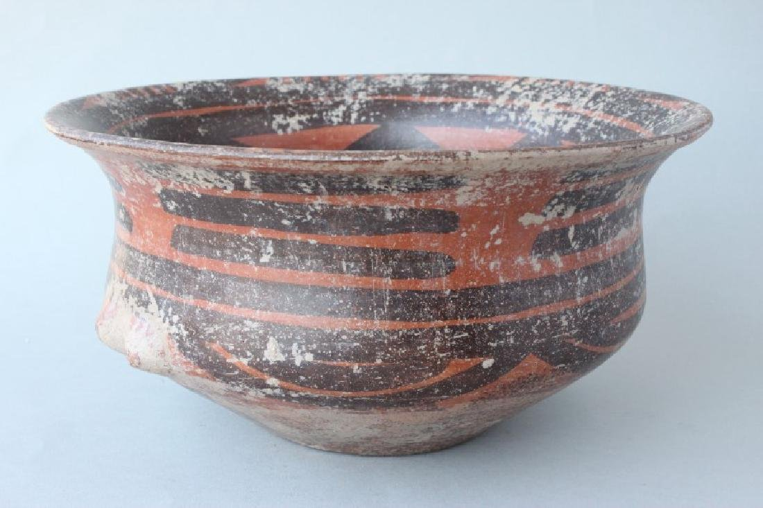Chinese Yangshao Style Earthen Ware Bowl,