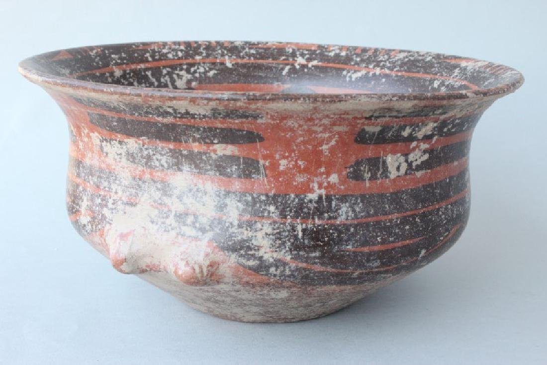 Chinese Yangshao Style Earthen Ware Bowl, - 2