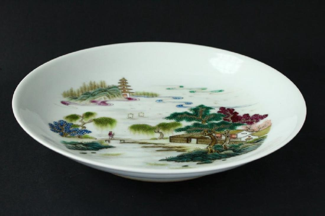 Chinese Porcelain Plate,