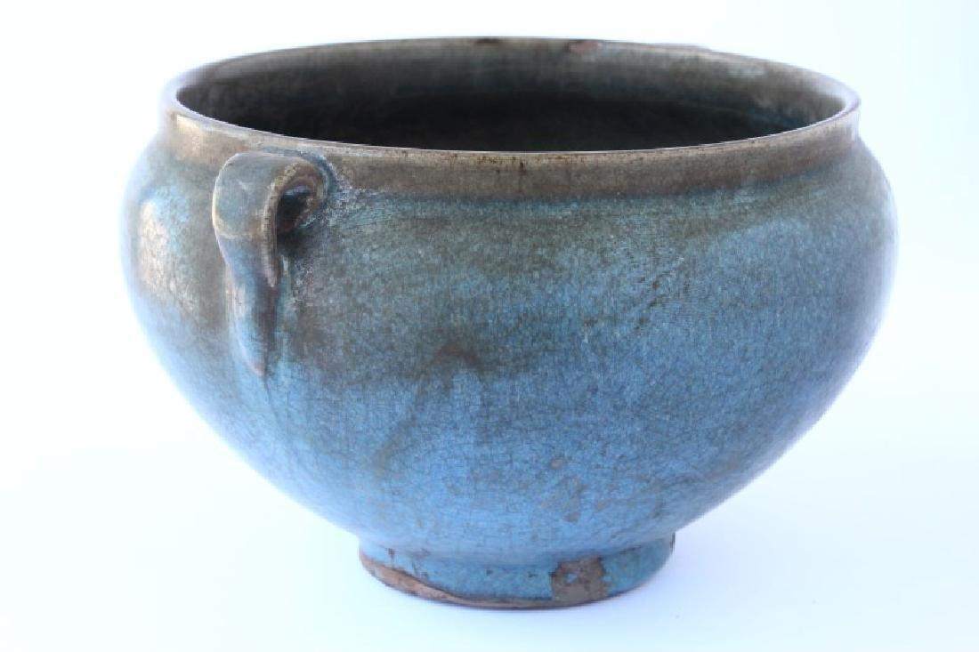 Chinese Junyao Glazed Vase, - 3